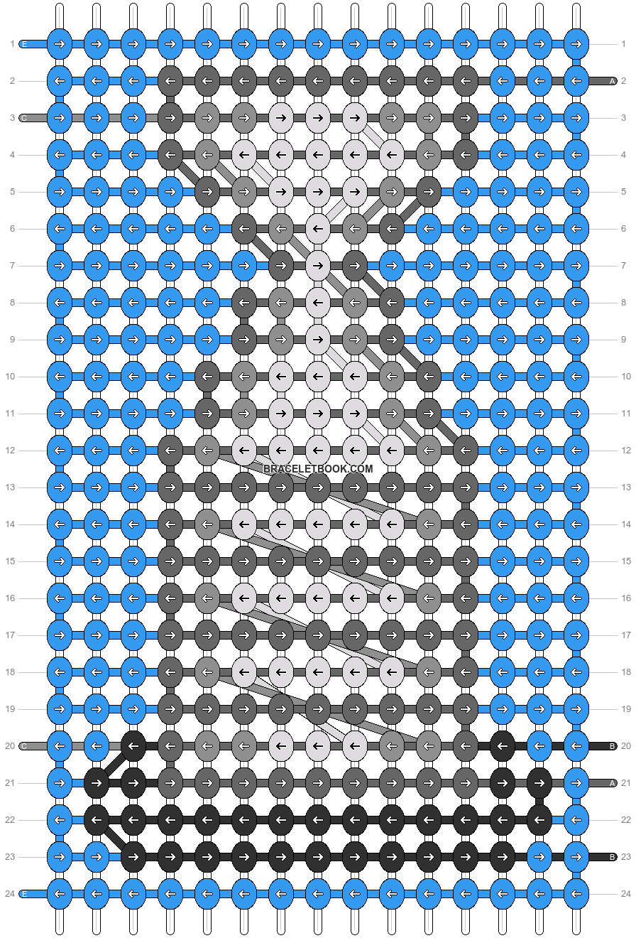 Alpha pattern #95766 pattern