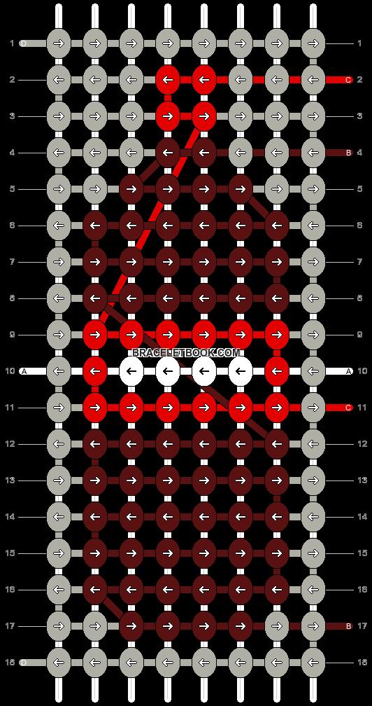 Alpha pattern #95790 pattern