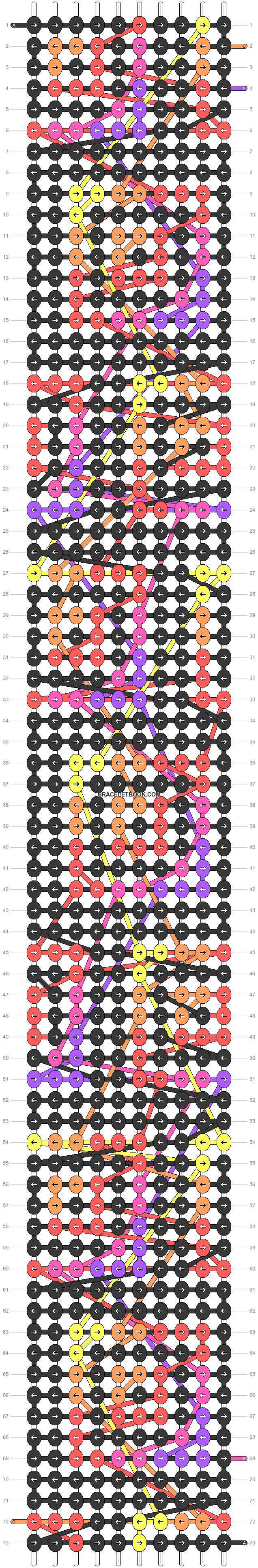 Alpha pattern #95812 pattern