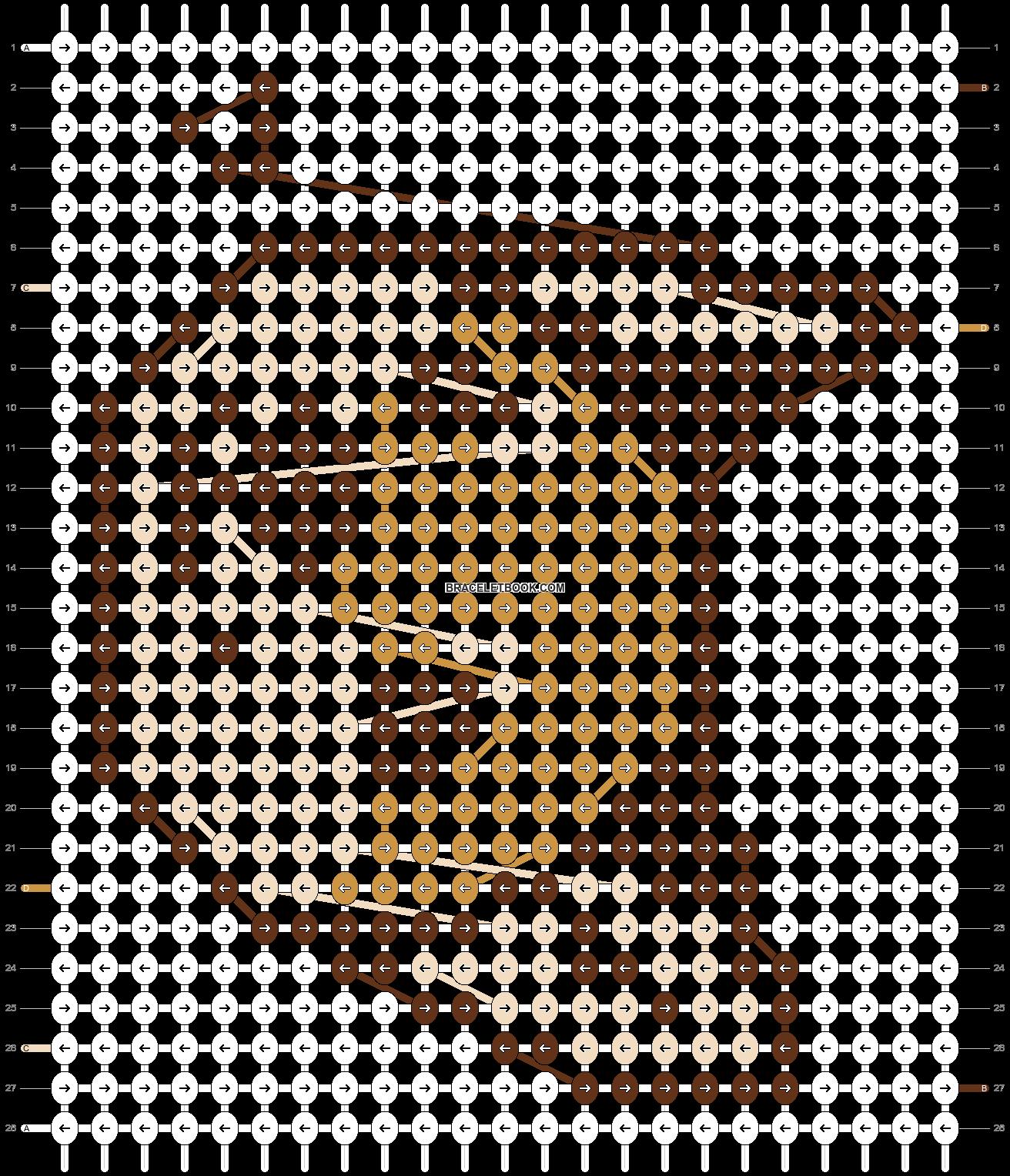 Alpha pattern #95827 pattern