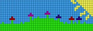 Alpha pattern #95833