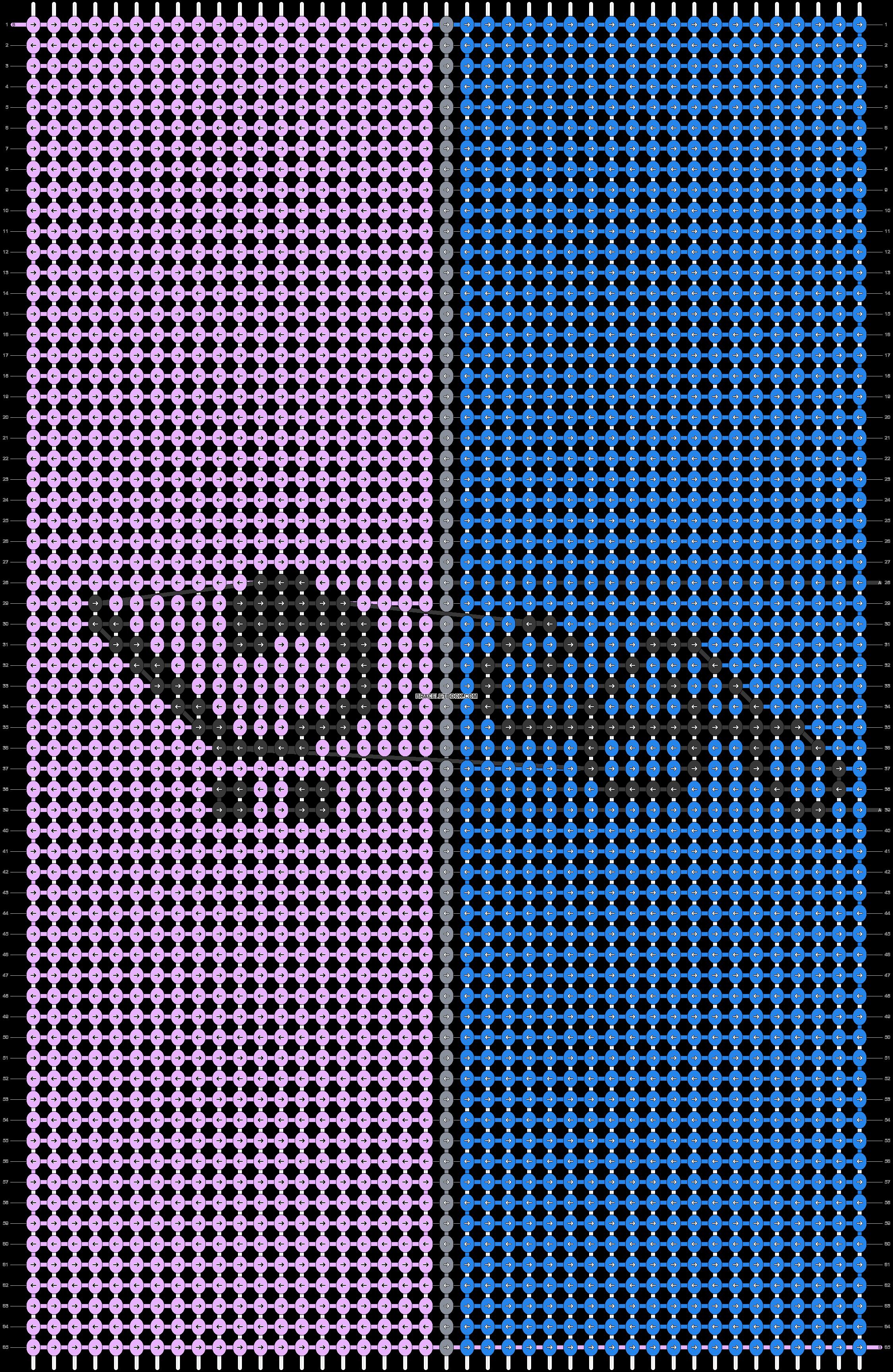 Alpha pattern #95837 pattern