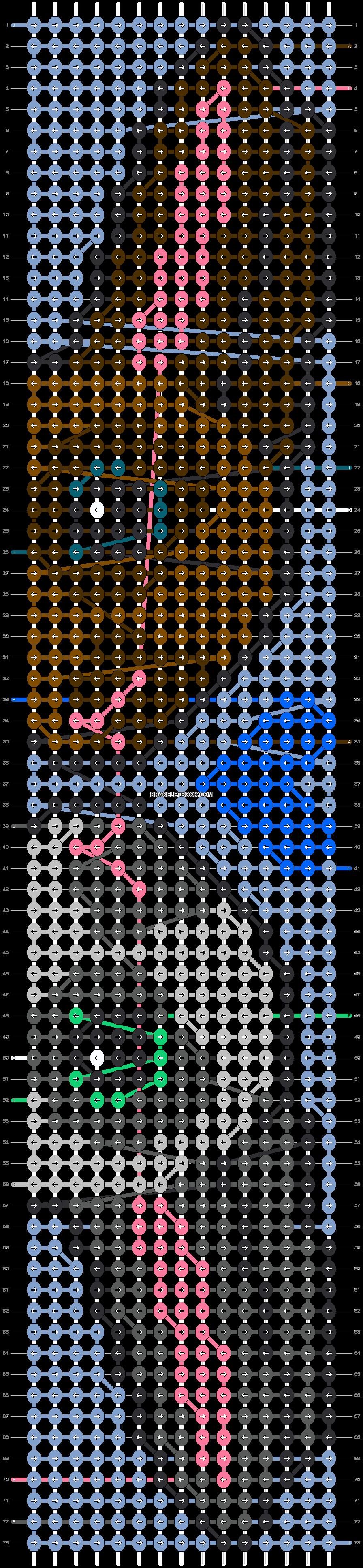 Alpha pattern #95838 pattern
