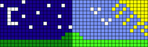 Alpha pattern #95907