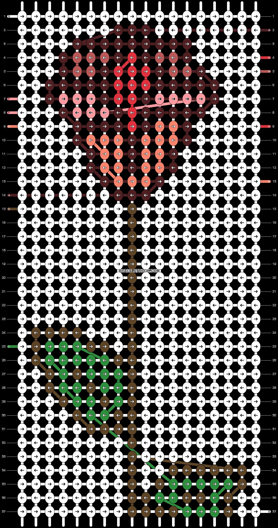Alpha pattern #95938 pattern