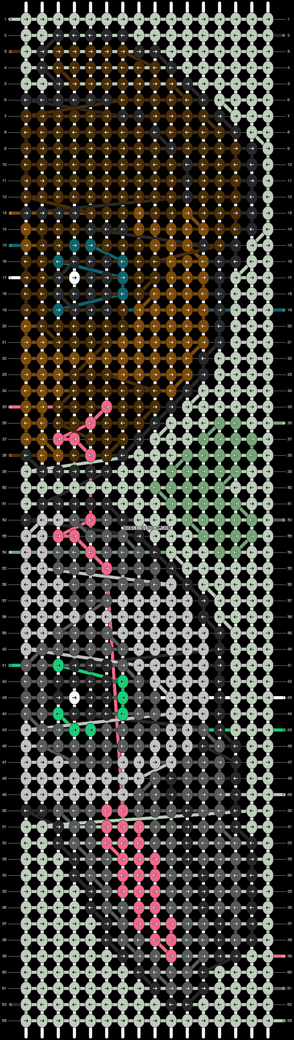 Alpha pattern #95991 pattern