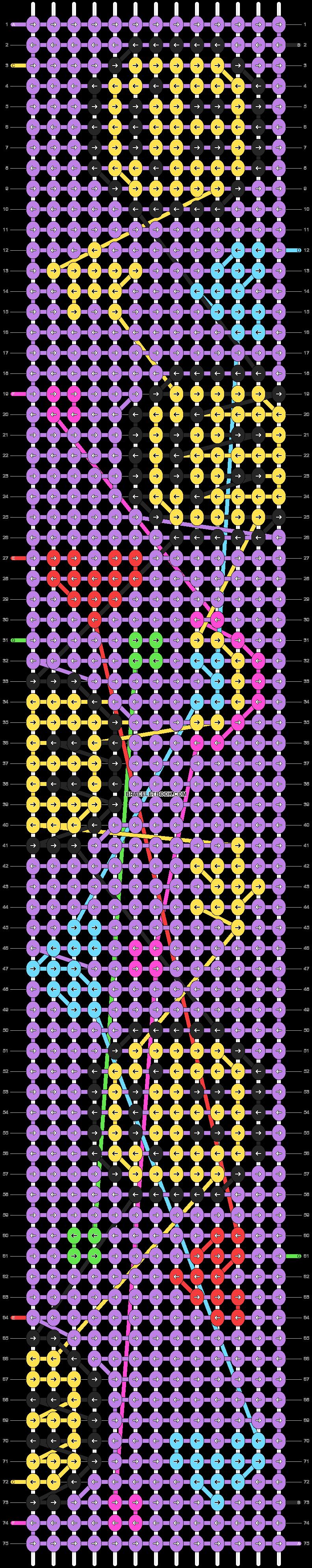 Alpha pattern #96001 pattern