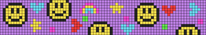 Alpha pattern #96001
