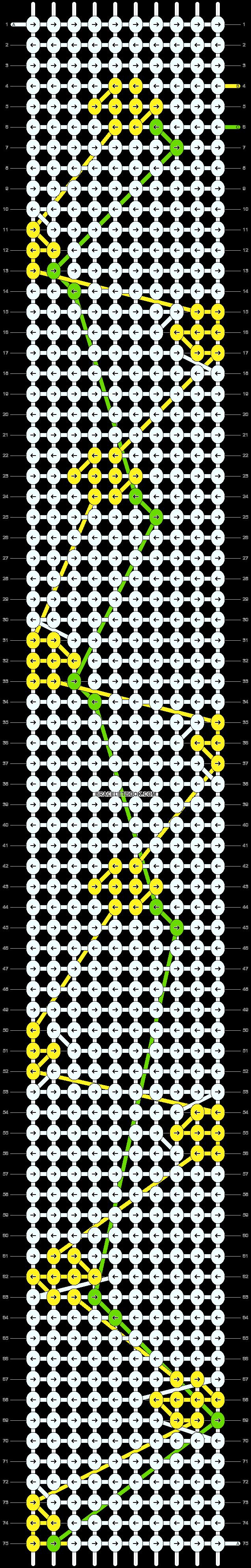 Alpha pattern #96005 pattern