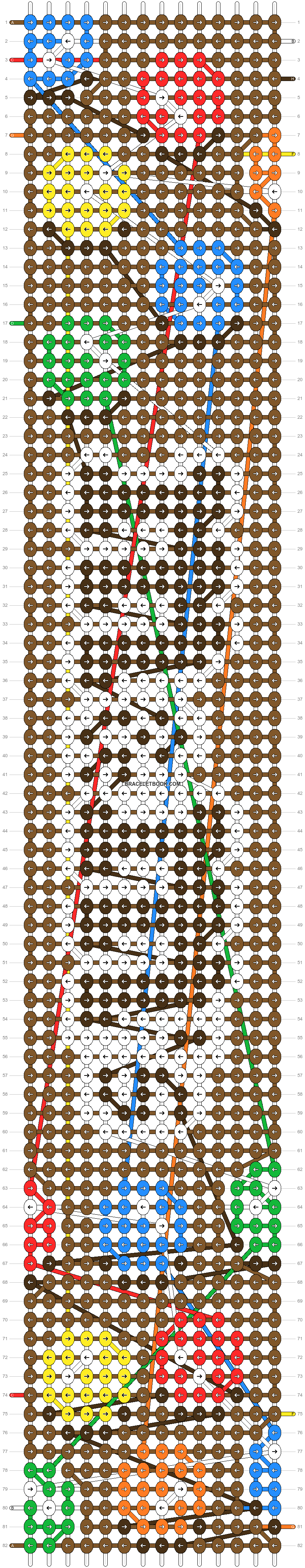 Alpha pattern #96019 pattern