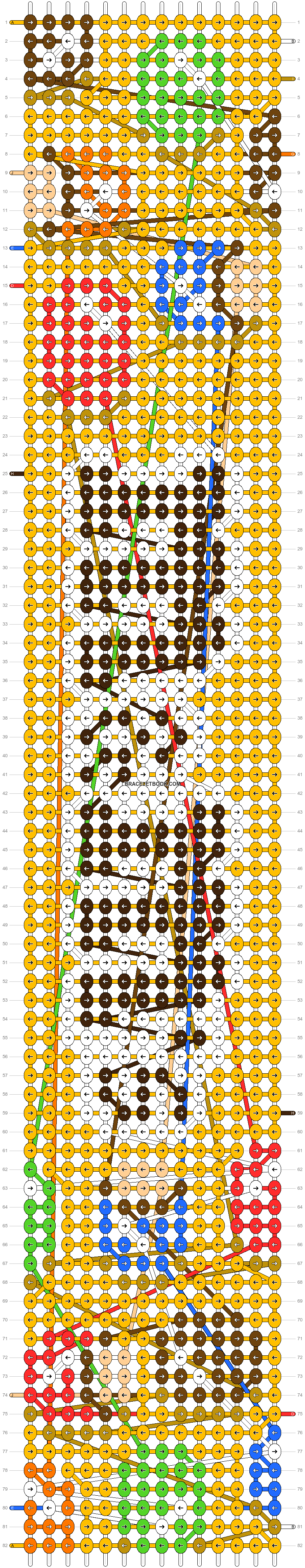 Alpha pattern #96020 pattern