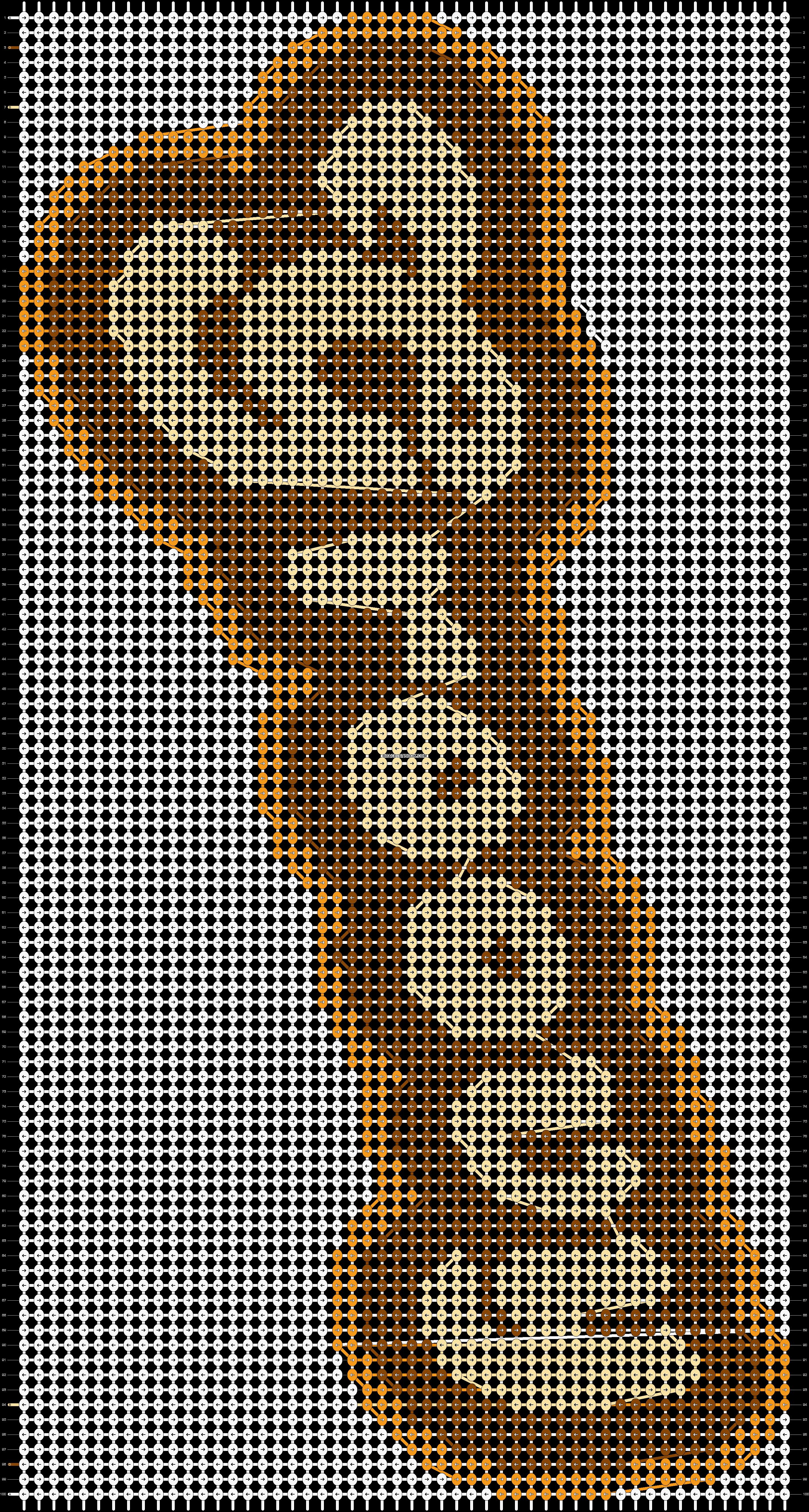 Alpha pattern #96046 pattern