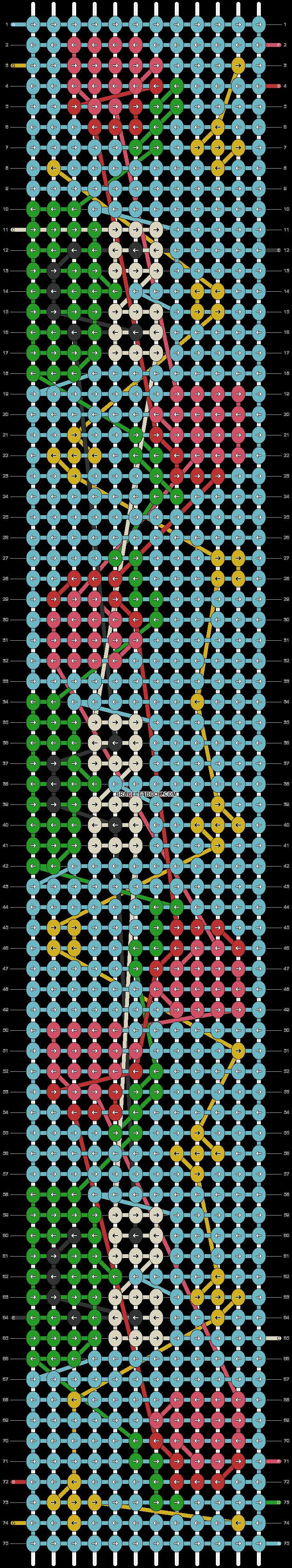 Alpha pattern #96058 pattern