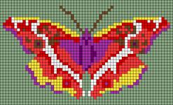 Alpha pattern #96105