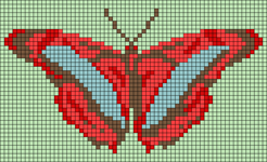 Alpha pattern #96122