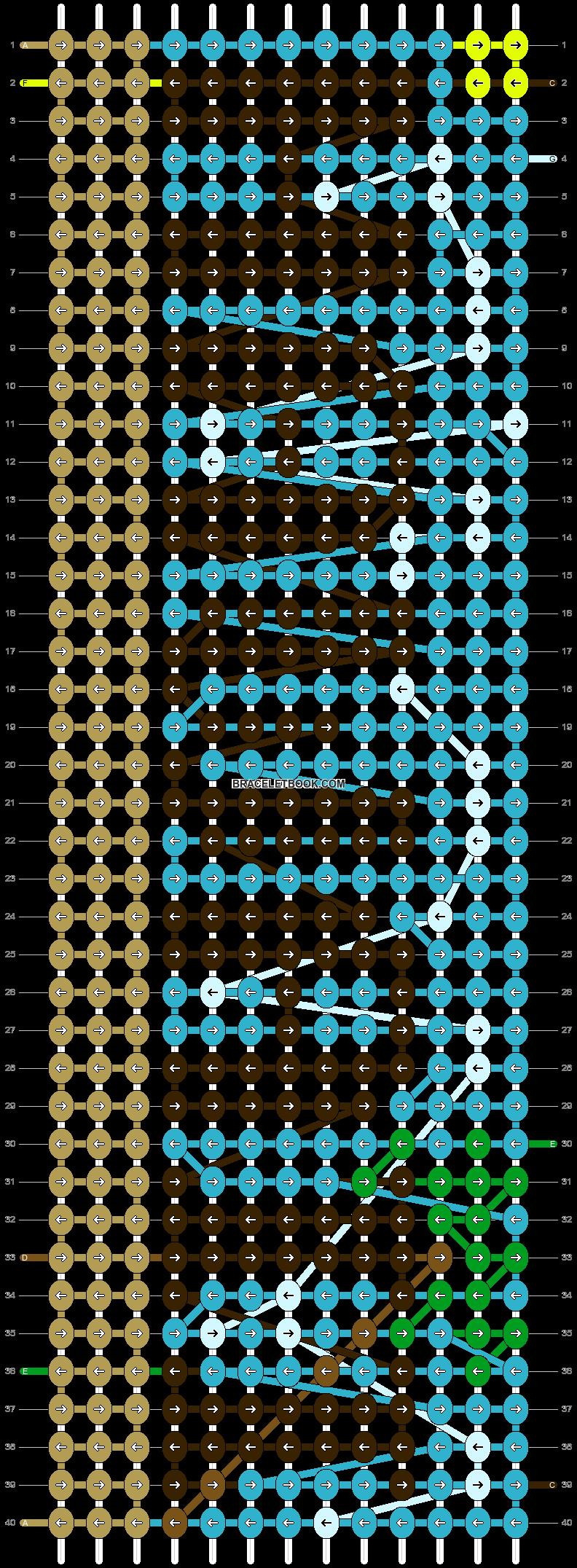 Alpha pattern #96124 pattern