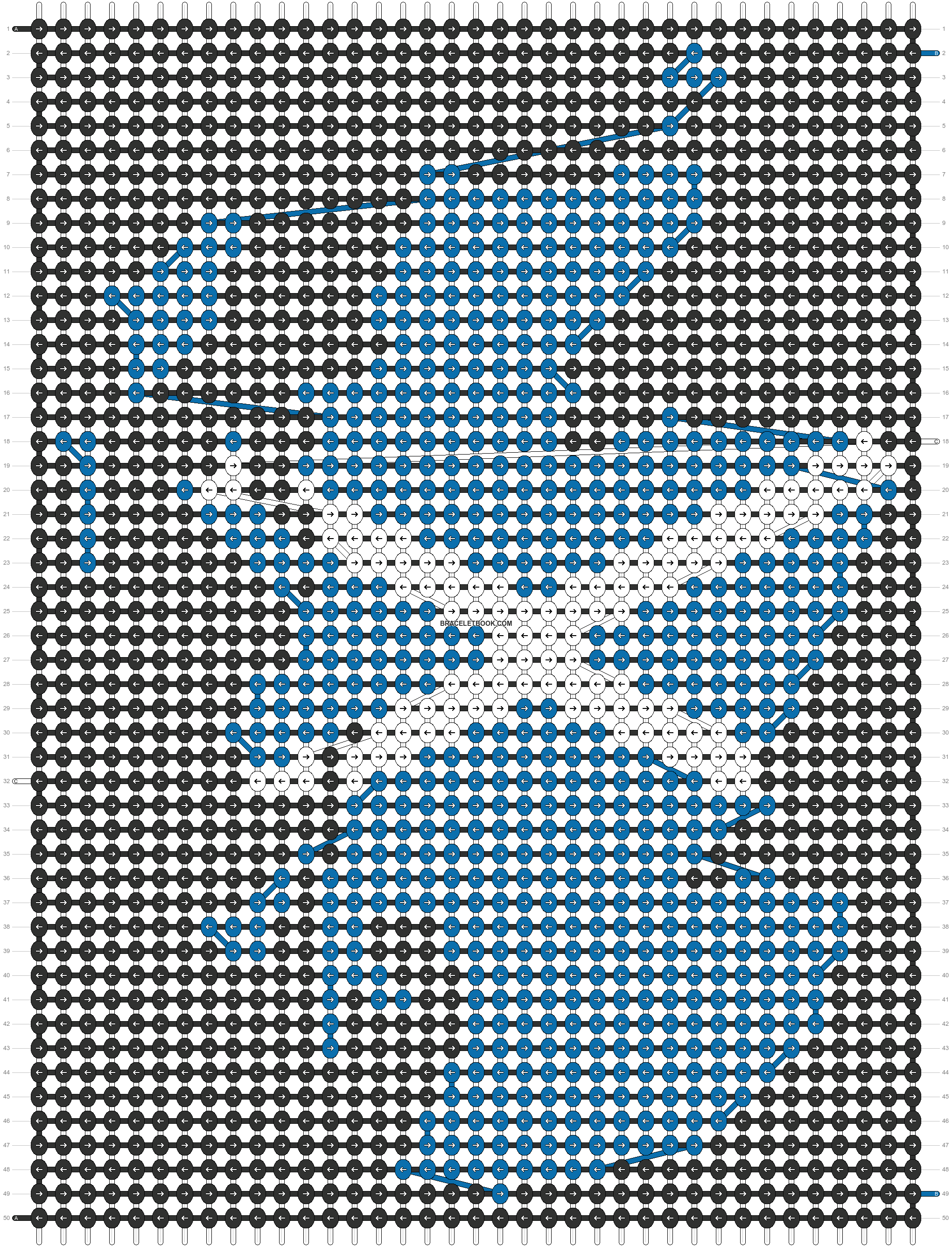Alpha pattern #96217 pattern