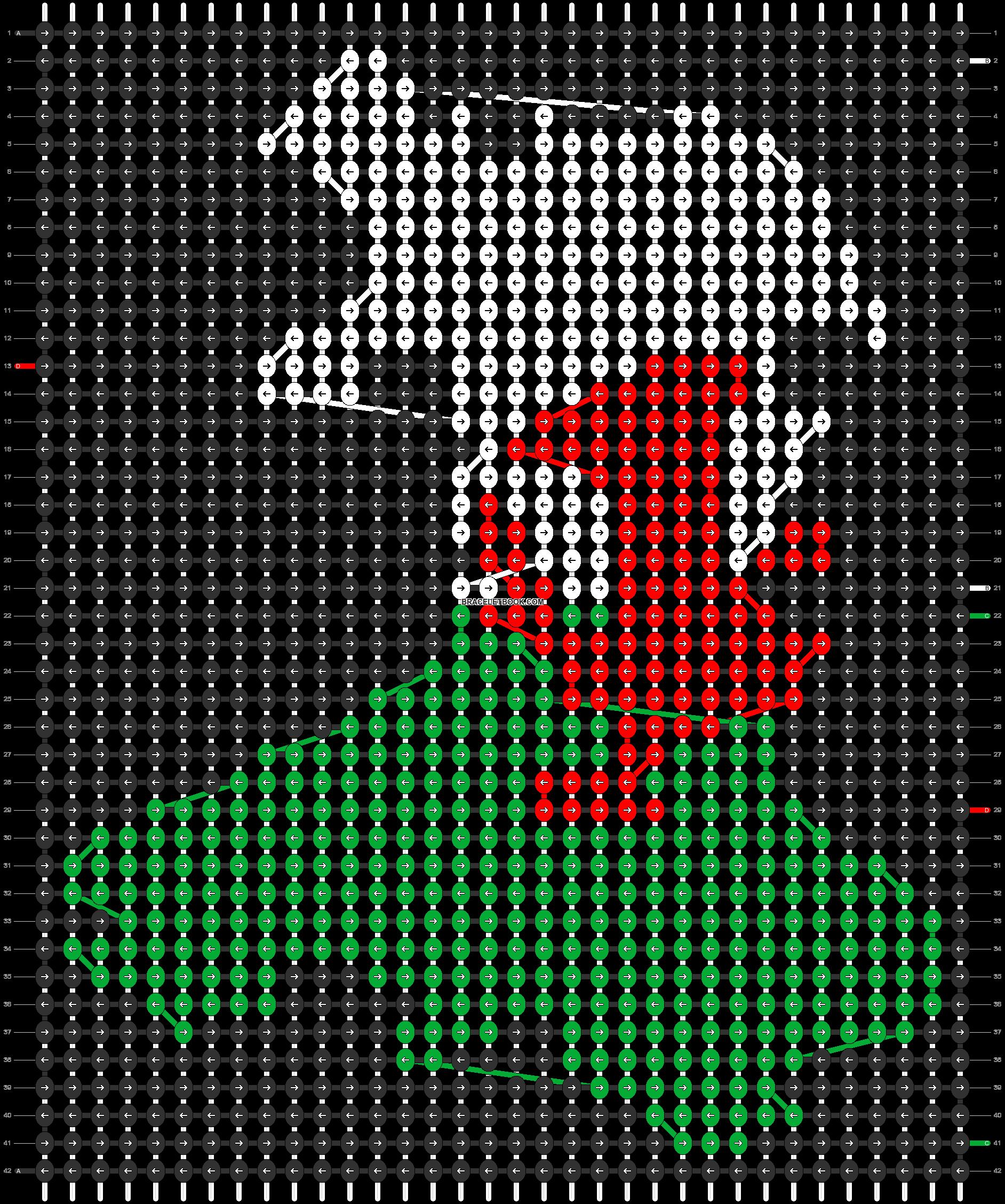 Alpha pattern #96219 pattern