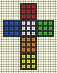 Alpha pattern #96396