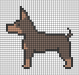 Alpha pattern #96454