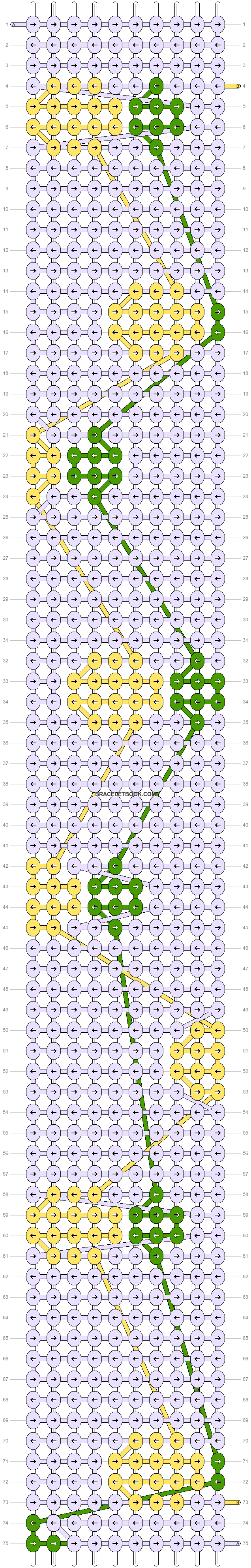 Alpha pattern #96467 pattern