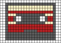 Alpha pattern #96503