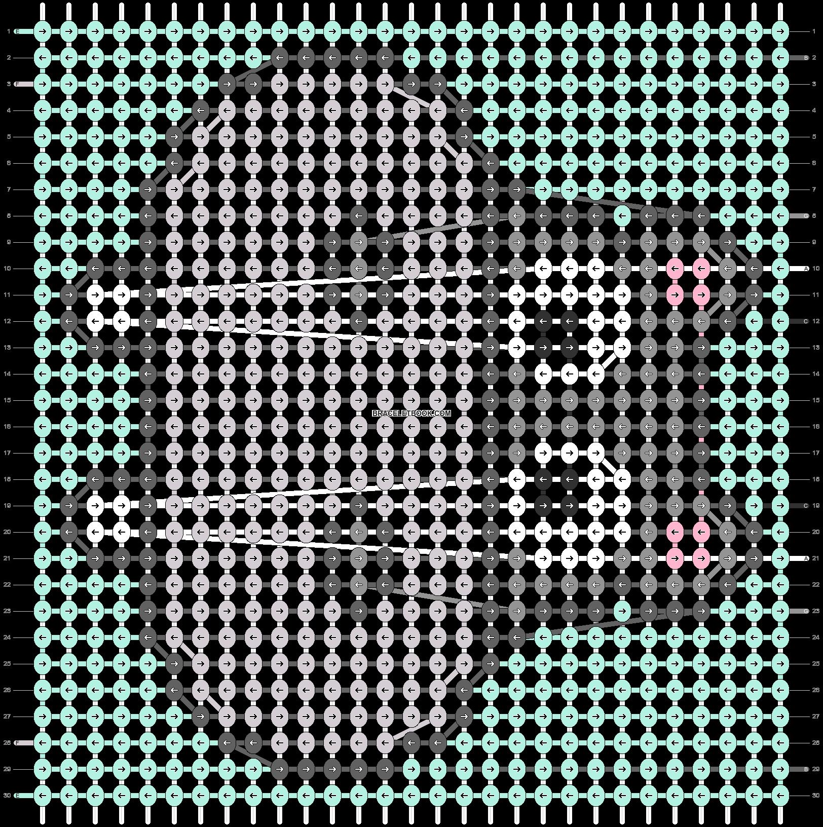 Alpha pattern #96521 pattern