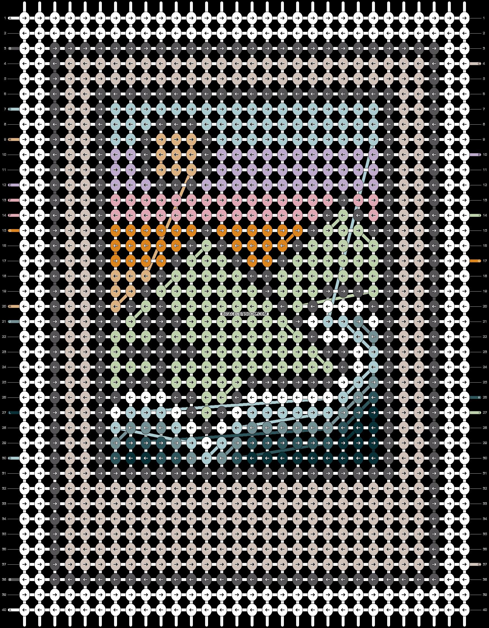 Alpha pattern #96672 pattern