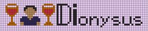 Alpha pattern #96681