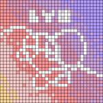 Alpha pattern #96697