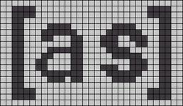 Alpha pattern #96742