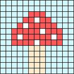 Alpha pattern #96764