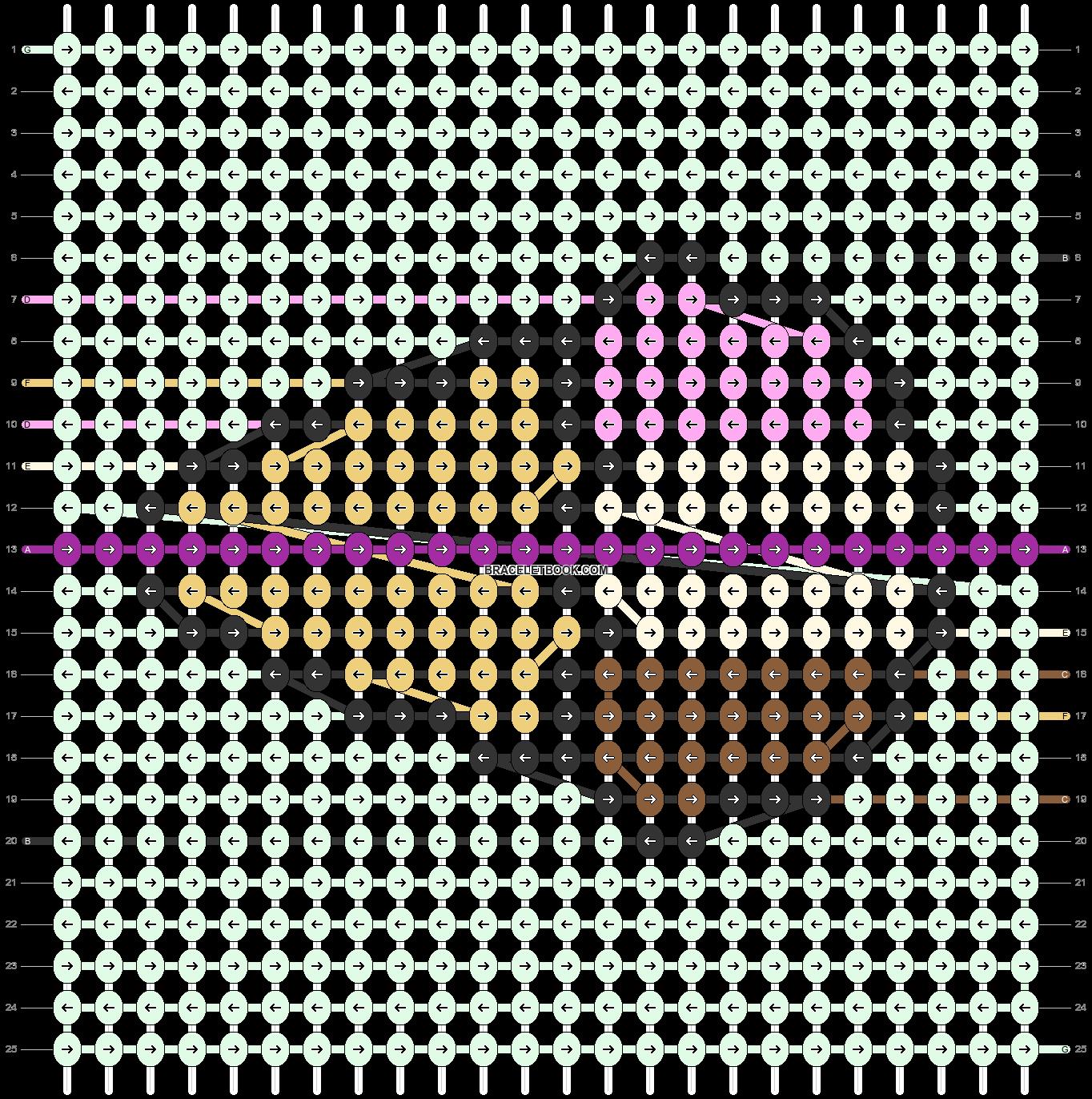 Alpha pattern #96815 pattern
