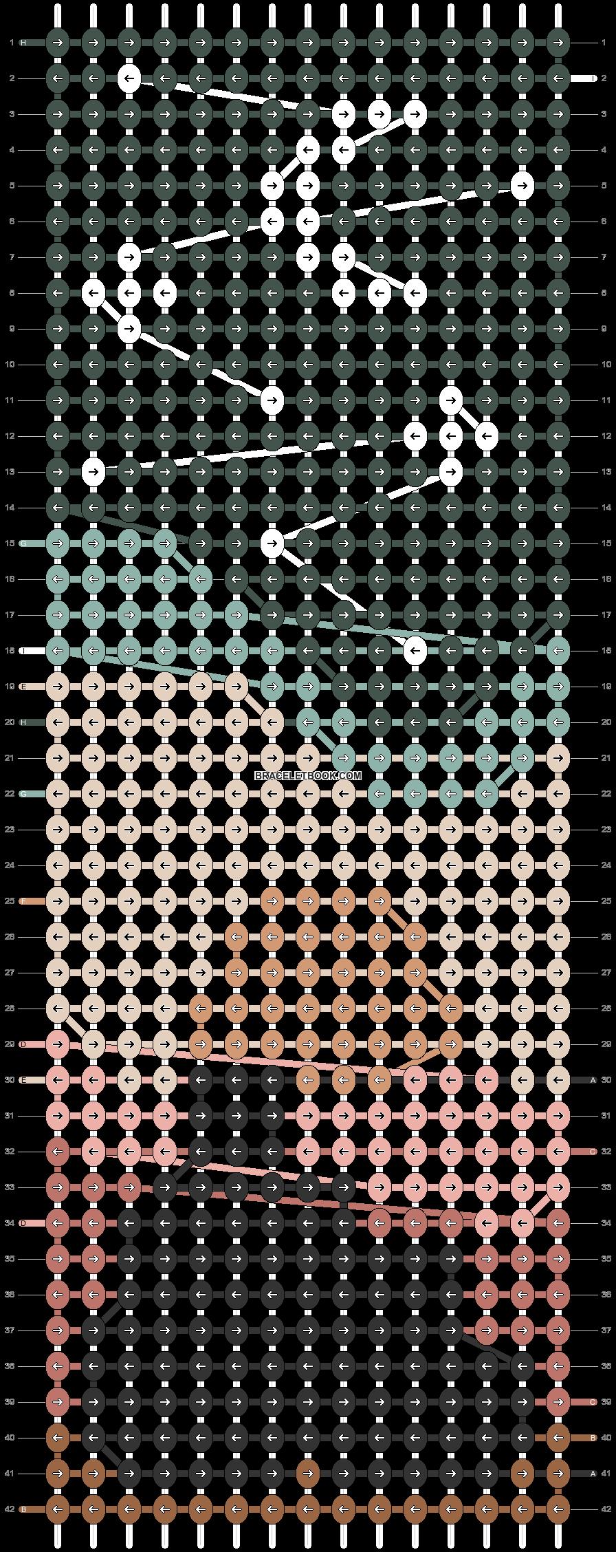 Alpha pattern #96818 pattern