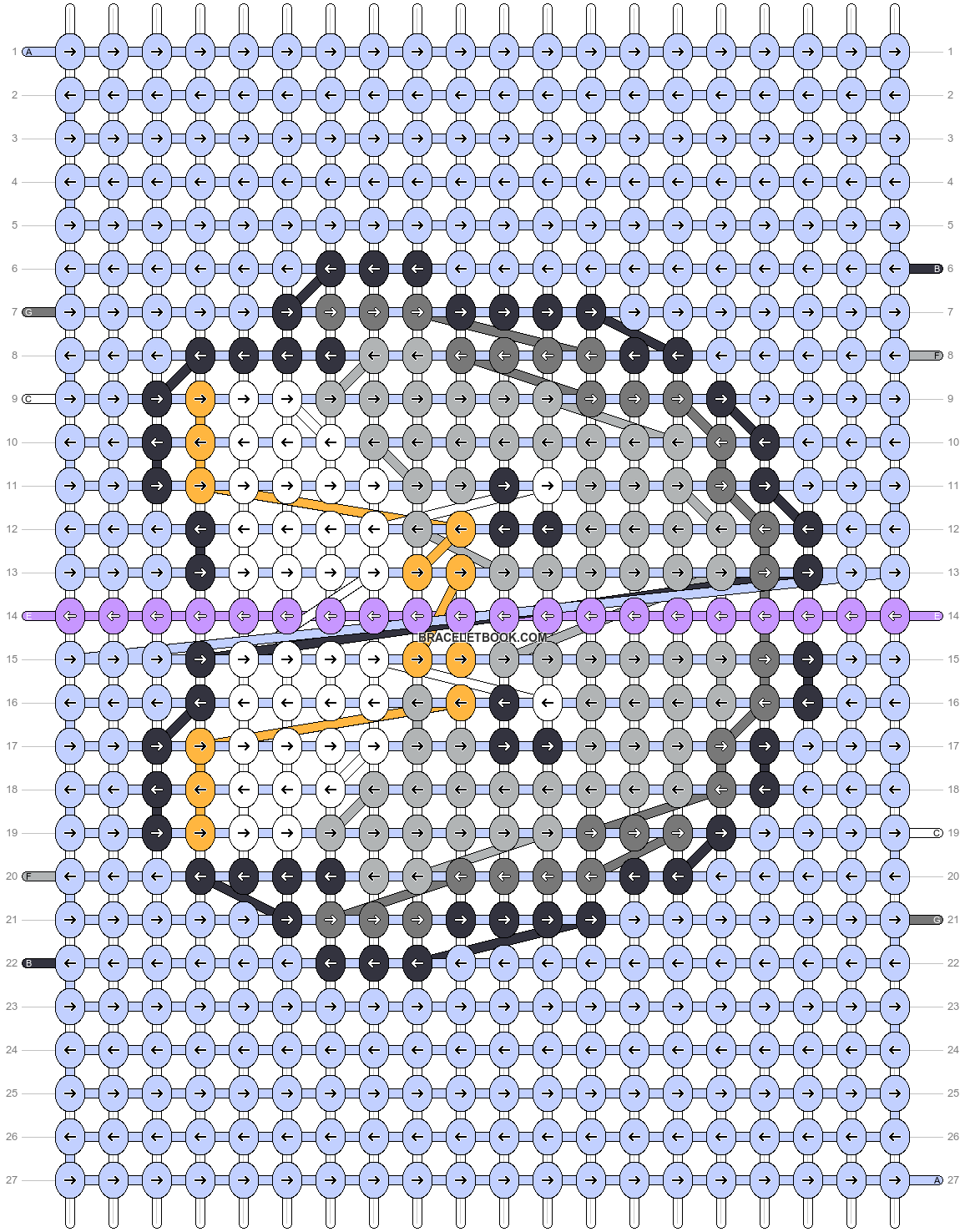 Alpha pattern #96822 pattern