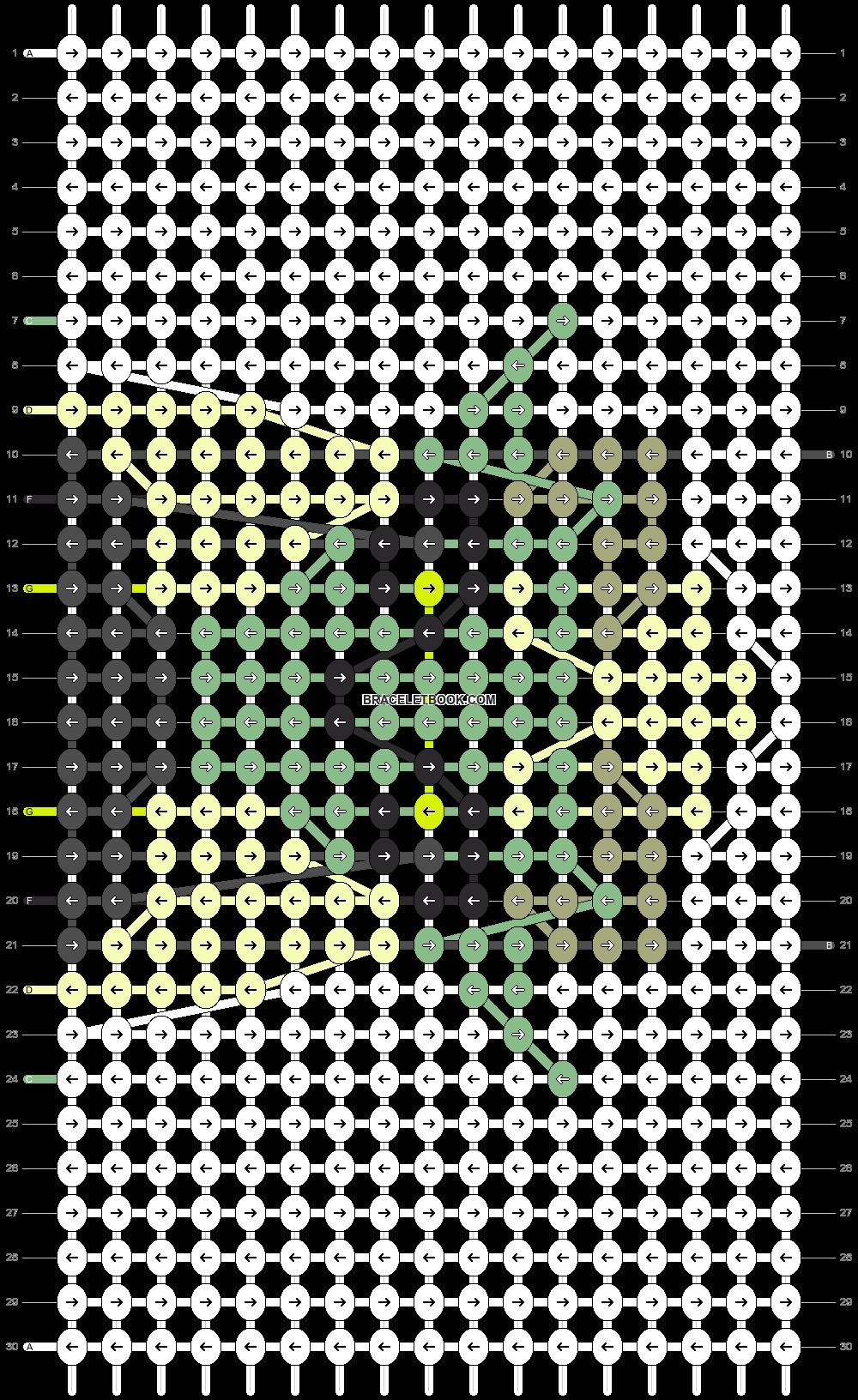 Alpha pattern #96858 pattern