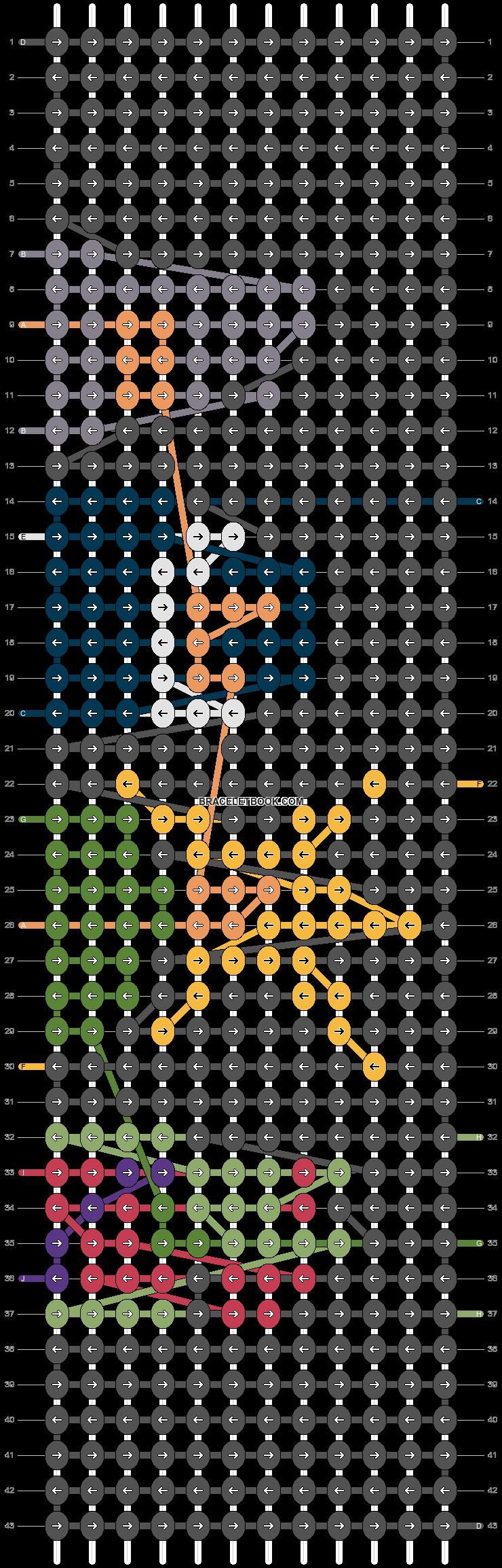 Alpha pattern #96892 pattern
