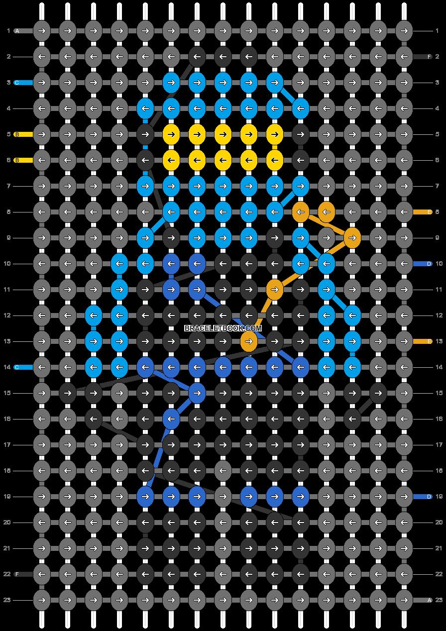 Alpha pattern #96946 pattern