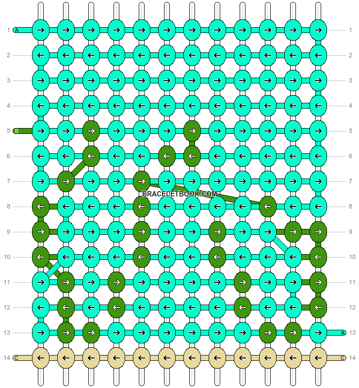 Alpha pattern #96953 pattern
