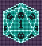 Alpha pattern #96954
