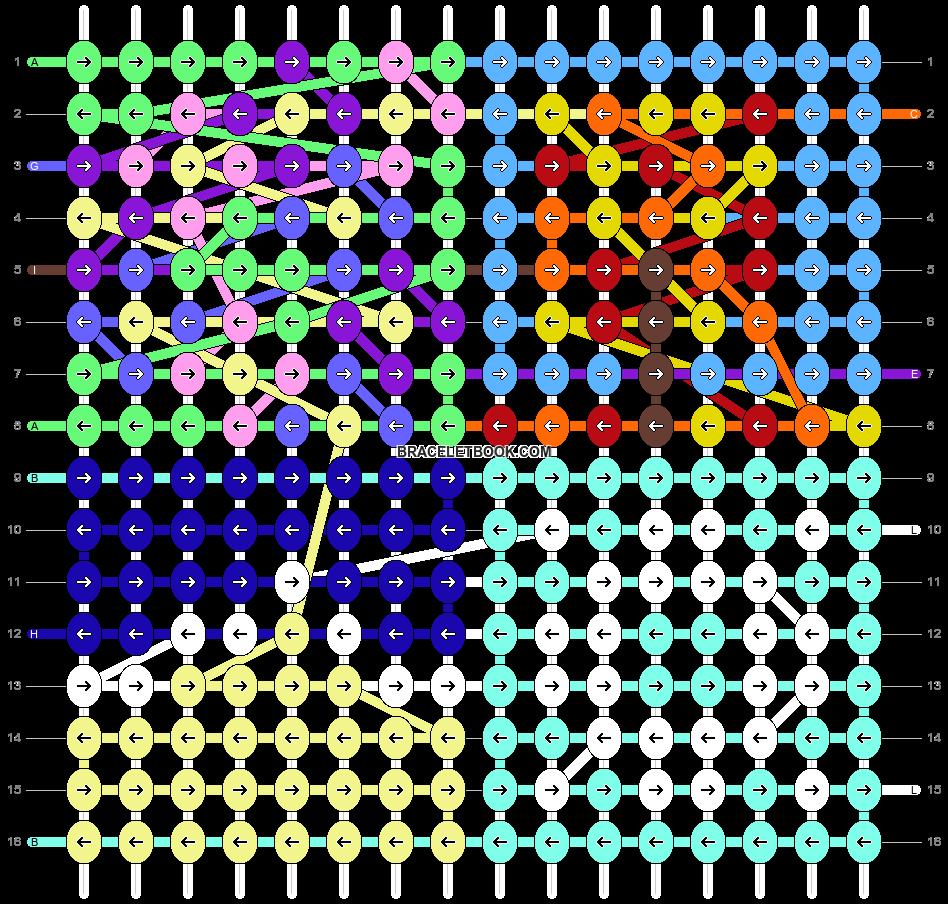 Alpha pattern #96970 pattern