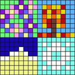 Alpha pattern #96970