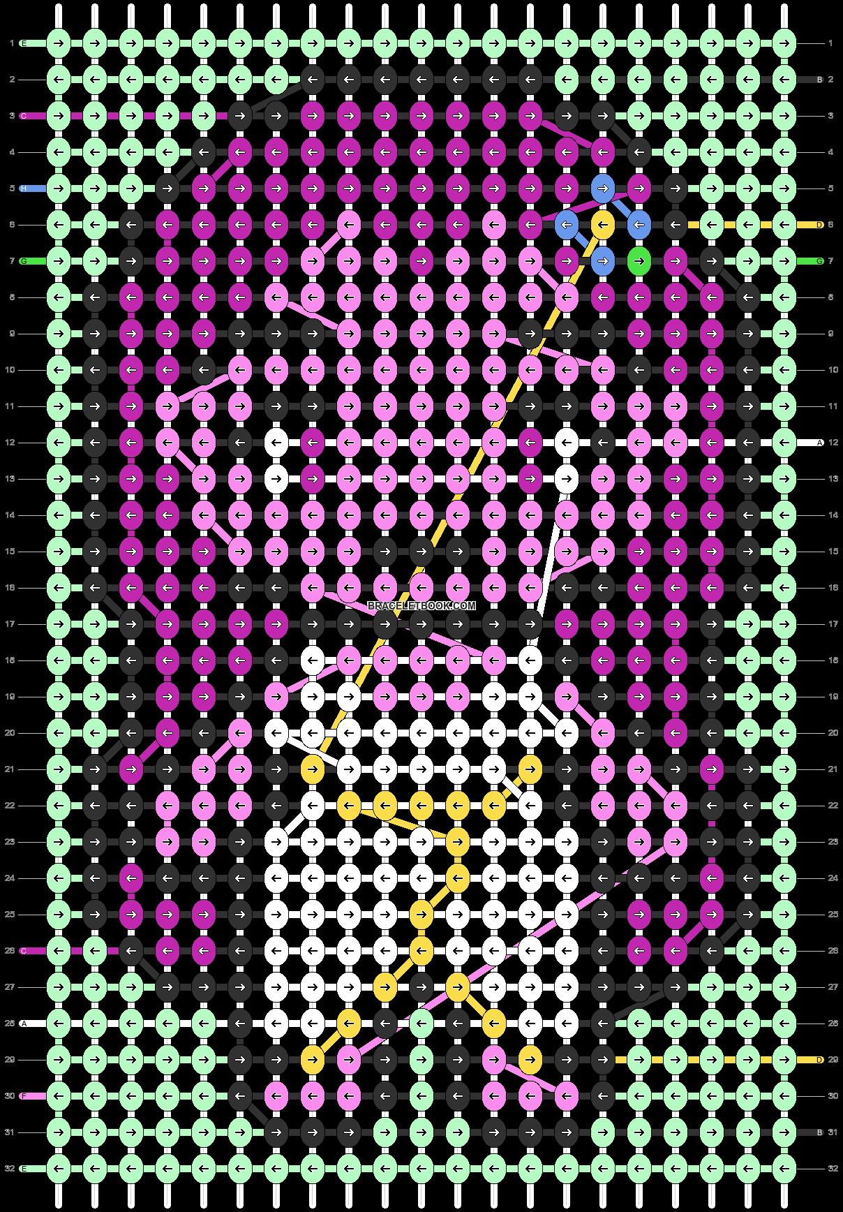 Alpha pattern #96979 pattern