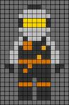 Alpha pattern #96990