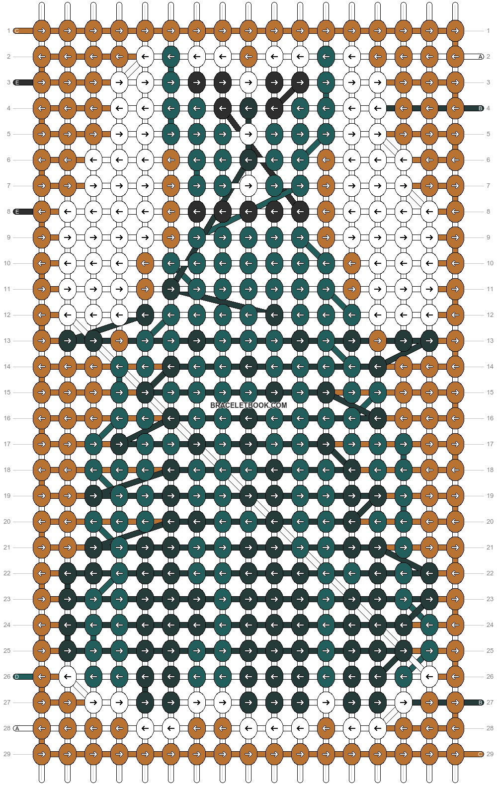 Alpha pattern #97020 pattern