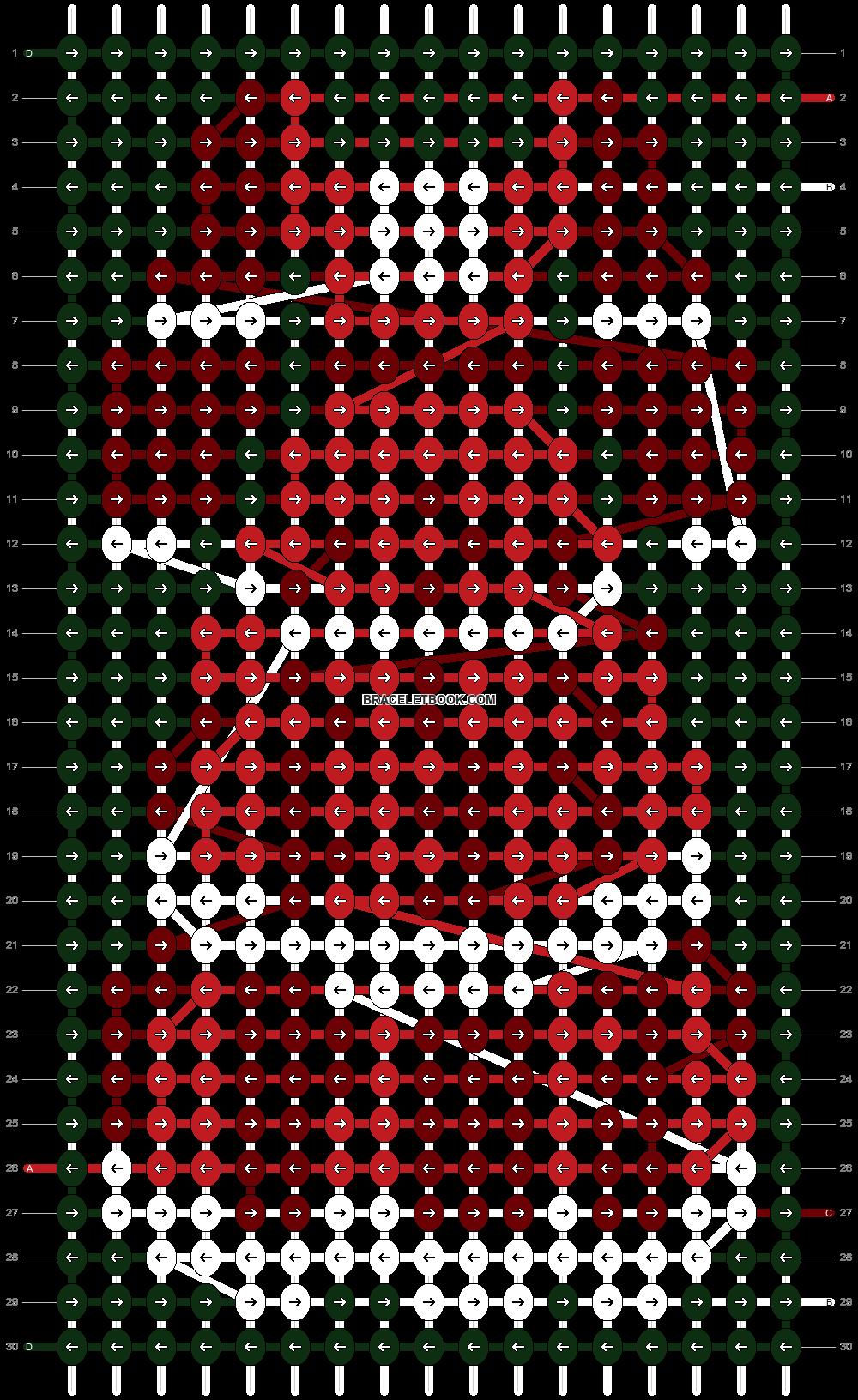 Alpha pattern #97024 pattern