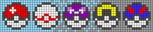 Alpha pattern #97040