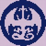 Alpha pattern #97043