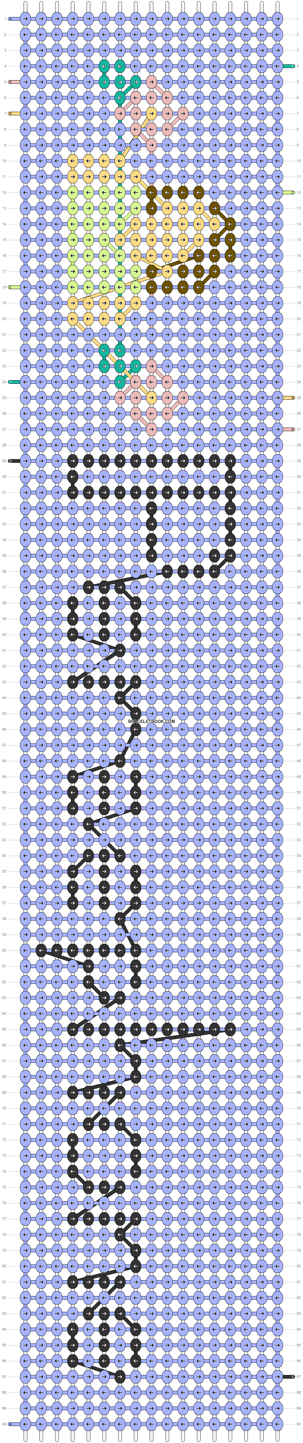 Alpha pattern #97062 pattern