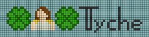 Alpha pattern #97073
